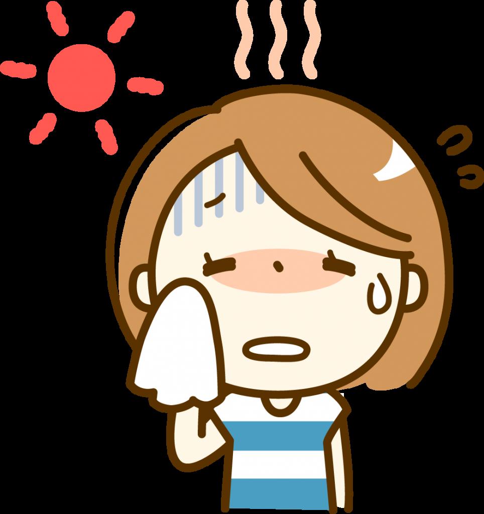 PTA夏休みのプール監視当番時の服装とは?熱中症対策